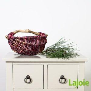 La vannière chez Lajoie fabrique de beaux paniers pour décoration de Noël